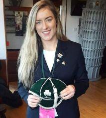 Edel McMahon Ireland Rugby Cap