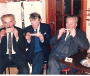 l-r Mihael O'Gorman, Jimmy Griffin and Kieran Cleary