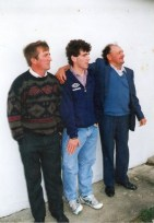 Kevin Crowley, Damien Devine and the late Jack Dick Murphy