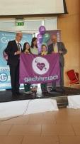 Kilmihil NS winning gaelbhratach