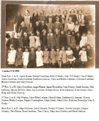 Leitrim National School 1928