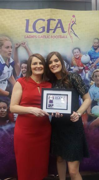 Marie Egan LGFA Coach of the Year