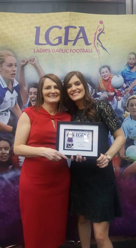Marie Egan LGFA Coach of the Year
