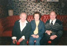 Marty Ryan with Eoin Power and his wife Mai 23.1.1996