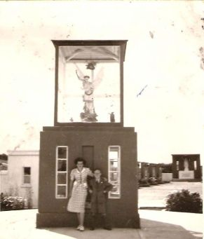 Patricia Galvin and John Clancy at the Shrine