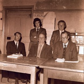 Vocational School Teachers from Glynne collection at Clare County Library