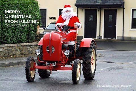 Santa on his regular visit 2015