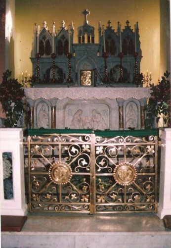 Church rails and gate 1992