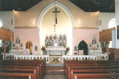 Interior of St Michael's Church Kilmihil 1992